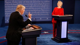How the Trump and Clinton debate played out online