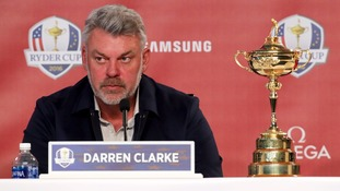 Darren Clarke said Rory McIlroy's win would inspire the European team.