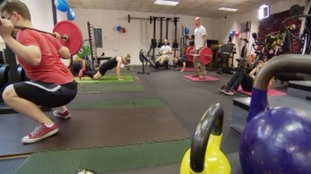 Veterans are doing a circuit of 22 exercises