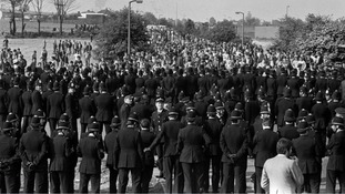 The Battle of Orgreave took place in the 1980s