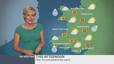 Wales Weather: Fine and dry for this afternoon