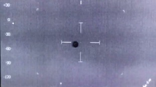 UFO filmed by police helicopter