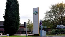 Man, 22, dies under a lorry at Jaguar Land Rover