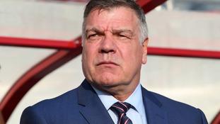 England manager Sam Allardyce