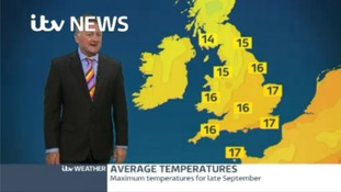 Overnight forecast Tuesday into Wednesday