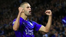 Slimani header gives Leicester win over Porto