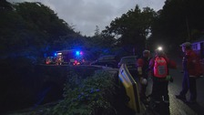 Police continue search for missing canoeist in Snowdonia