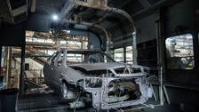 Time stands still at abandoned MG Rover plant