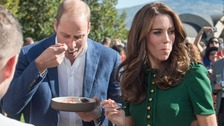 William and Kate snubbed for second time on royal visit
