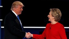 US election debate draws record TV audience of 84 million