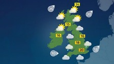Weather: Heavy rain and drizzle across the UK