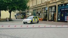 Man arrested after two bodies found Cardiff's Queen Street