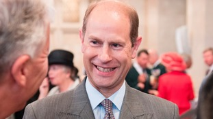 Prince Edward is visiting the region