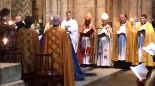 Former Bishop of Durham laid to rest