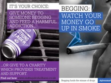 Do you think the Advertising Standards Agency made the right decision to ban anti-begging posters in Nottingham?
