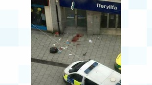Cardiff Queen Street murder: A 33 year old man and a 21 year old woman stabbed outside Matalan