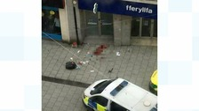 Queen Street murder: 33 year old man and a 21 year old woman stabbed outside Matalan