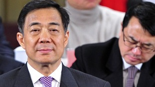 Bo Xilai pictured in January