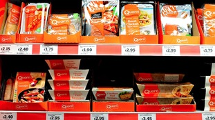 Quorn recall soups wrongly labelled as vegan