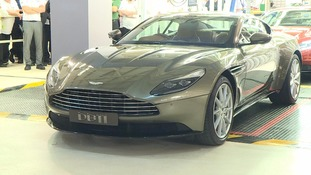 250 new car manufacturing jobs at Aston Martin as latest DB11 model launched
