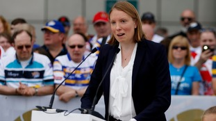 Sports Minister Tracey Crouch.