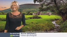Wales Weather: Rain overnight!