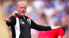 Barnsley FC suspend Tommy Wright over bung allegations