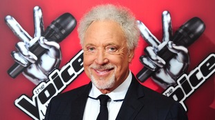 Sir Tom Jones, pictured at the launch of The Voice UK in 2014.