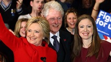 Chelsea Clinton brushes off Donald Trump threat