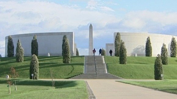 The National Memorial Arboretum in Staffordshire remembers those who&#x27;ve lost their lives in the armed forces