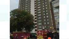 60 firefighters called out to blaze at Portsmouth flats