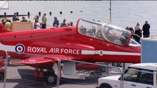 The Red Arrows regularly appear at the Southend Airshow