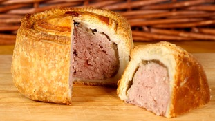 Pensioner stopped at airport because of pork pie in bag