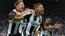 Dwight Gayle scored a dramatic last minute winner for Newcastle United.