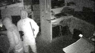 CCTV of burglary