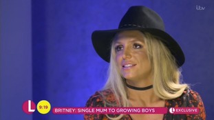 Britney Spears says 'it's ok to be single' and is enjoying her thirties after her 'horrible twenties'