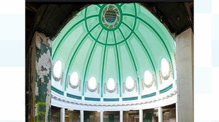 The interior of the Whitley Bay Spanish Dome