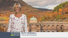 Wales Weather: All very Autumnal!