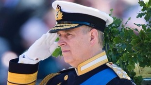 Prince Andrew is Admiral of the Sea Cadets Corps