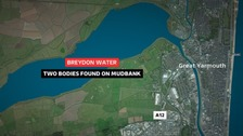 Two bodies found on mudbank near Great Yarmouth