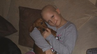Megan Newman was only 12 years-old when she was diagnosed with a brain tumour