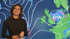 Lucy has the latest weather