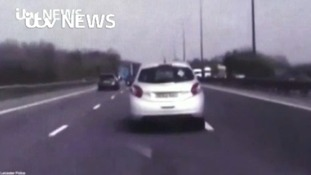 Traffic officer hailed for averting M1 tragedy after driver falls unconscious