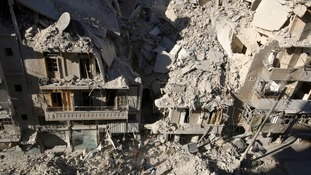 'Bunker busting bombs' leave Syrians with no place to hide