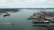 Unexploded WW2 bomb found in Portsmouth Harbour
