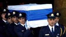World leaders gather for funeral of former Israeli president