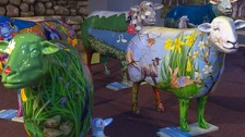 Iconic Lake District art sheep up for auction
