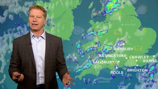 Friday's forecast for the west of the region