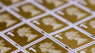 The price of a first class stamp is to increase by 30 per cent.