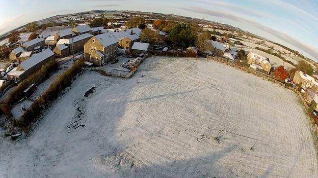 Sent in from Oliver and Jamie who were flying over Hexham